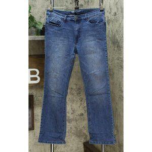 DG2 Stretch Boot Cut Jeans Midtone 10 Petite